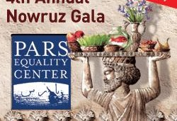 Pars Equality Center's ۴th Annual Nowruz Gala