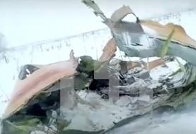 سقوط یک هواپیمای مسافربری با ۷۱ سرنشین در مسکو