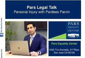 Pars Legal Talk: Justice for the Injured with Pardees Parvin