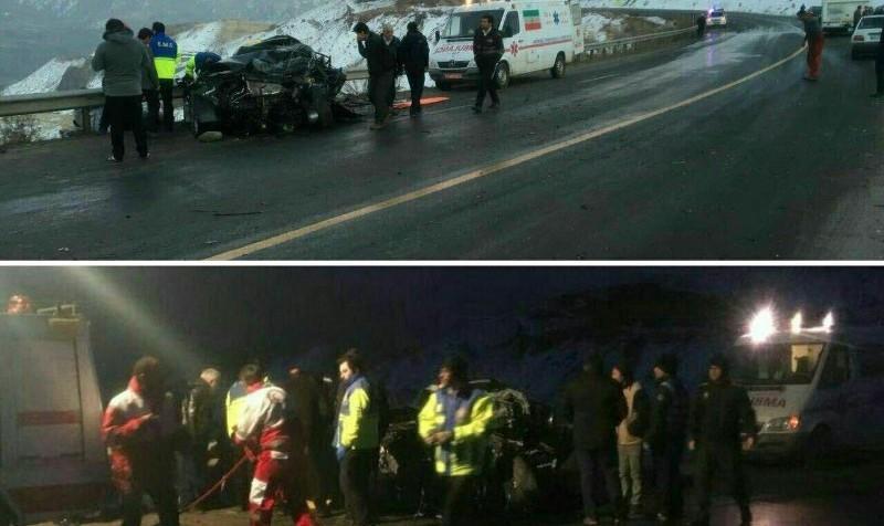 رییس مرکز سلامت محیط وزارت بهداشت خود در تصادف کشته شد