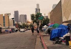 فیلم: حال و روز دردناک بیخانمانها در خیابانهای لسآنجلس