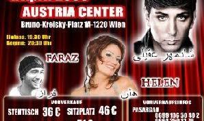 کنسرت شادمهر و هلن و فراز در اتریش