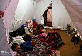 اخبار زلزله در ناآرامیها گم شد: زلزله زدگان سرابی، دمای منفی 12 درجه را تجربه میکنند
