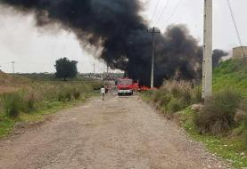 Susa main gasoline pipeline engulfed in fire