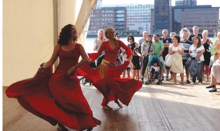 رقص و جشنواره هنر شرقی در کپنهاگ