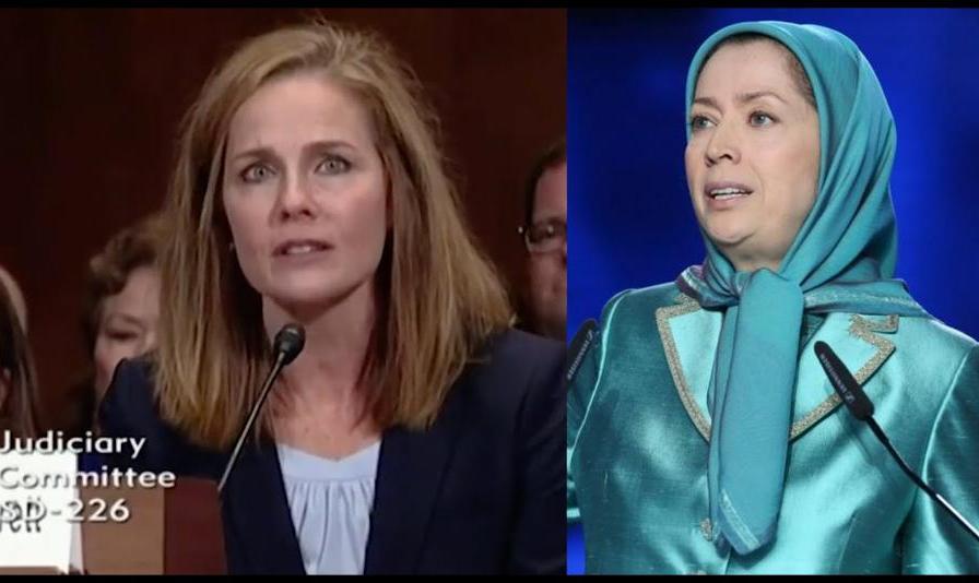 نامزد ترامپ برای دیوان عالی آمریکا قبلاً با گروه نظامی ایرانی ...