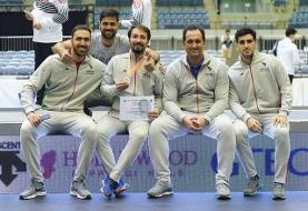 تیم سابر ایران ششم قهرمانی جهان شد