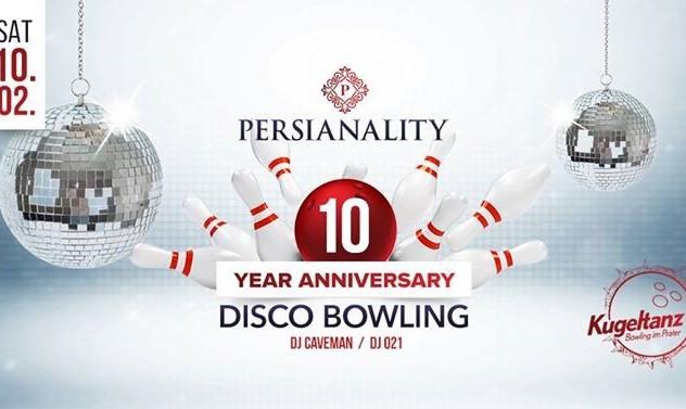 Persian 10th Anniversary Disco Bowling