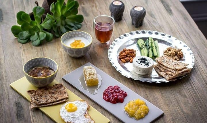 صبحانه و حلیم ایرانی