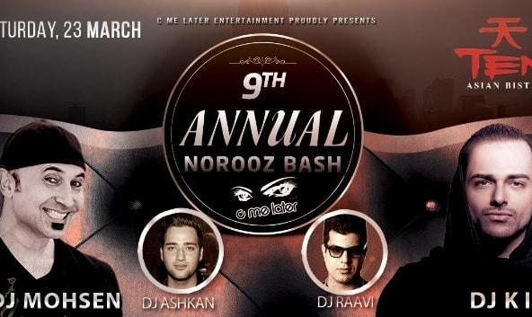 Annual Persian Norooz Bash in Irvine