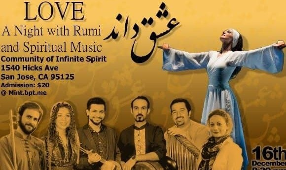 Rumi's Wedding Night, Spiritual Music, and Dance