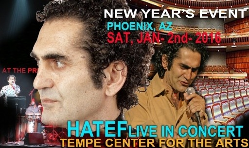 HATEF Live In Concert: New Year's Event in Phoenix Area
