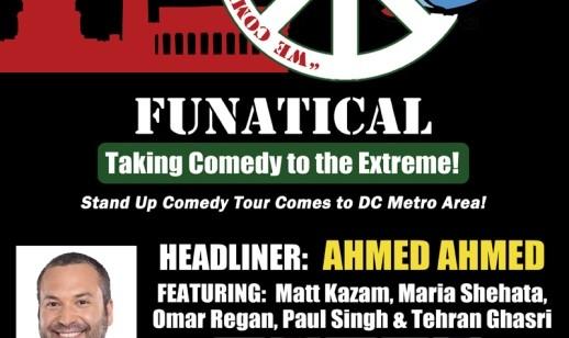 Tehran & Ahmed Ahmed in FUNATICAL Interfaith and Intercultural Comedy Tour