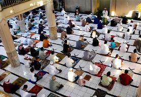 تصاویر نماز و جشن عید فطر در کشورهای مختلف در دوران کرونایی