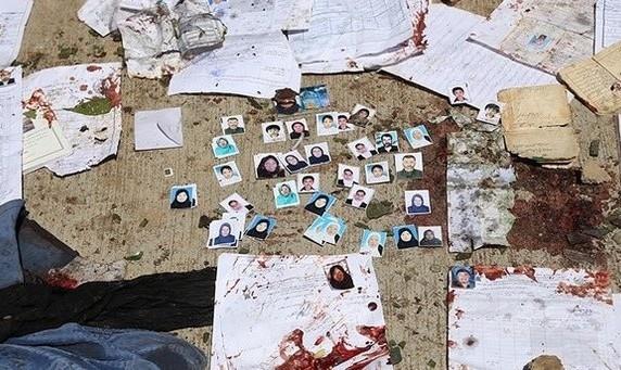 انتقام گیری از مشارکت مردم در تعیین حق سرنوشت: ۱۷۷ کشته و زخمی در حمله انتحاری داعش مرکز ثبت نام رای دهندگان