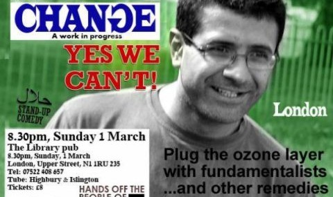 Yes We Can't: Stand-Up Comdey Show By Peyvand Khorsandi
