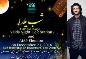 Shab Yalda Celebration AIAP San Diego with Comedian Amir K