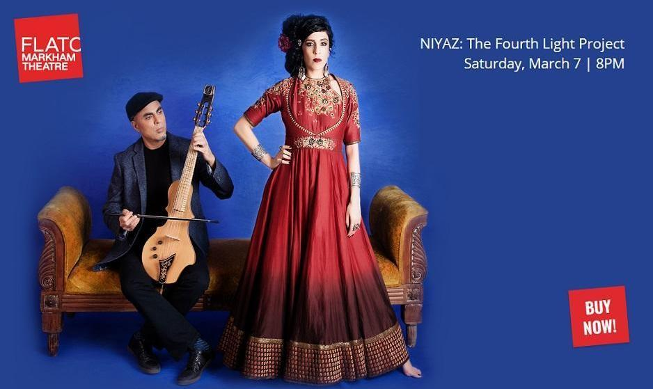 Niyaz at the Flato Markham Theatre: An Immersive Soulful, Magical ...
