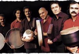 کنسرت گروه ضربانگ به همراه نوازنده مهمان Matthiaos Tsahourides و رقص بنفشه صیاد