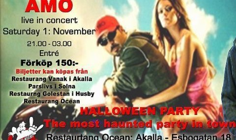 Halloween Party in Persian Night Disco