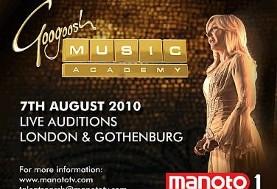 Googoosh Music Academy Auditions