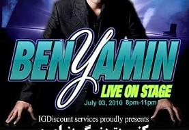 Benyamin Concert in Vancouver