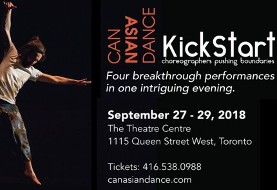 CanAsian Dance ۲۰۱۸: KickStart Festival with Innovative Canadian Dance Artists