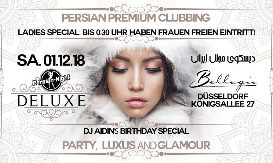 Persian Night Deluxe at Bellagio Club in Düsseldorf