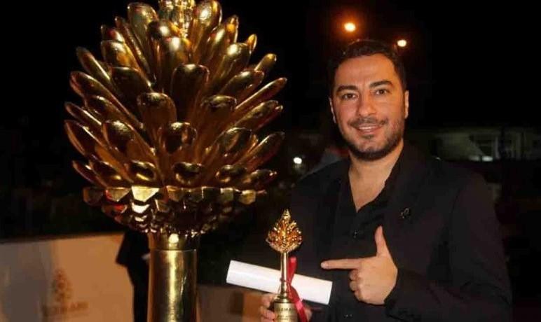نوید محمدزاده در جشنواره سلیمانیه عراق جایزه گرفت