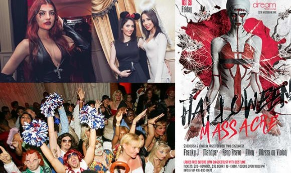 Halloween Massacre: Spooktacular Persian Halloween Party in Toronto