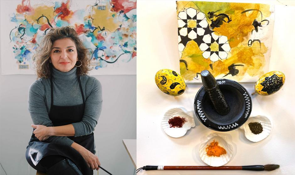 FREE VIRTUAL WORKSHOP: Artist, Saya Behnam - Persian New Year Celebration