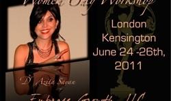 سمینار فقط برای زنان دکتر آزیتا ساعیان در لندن
