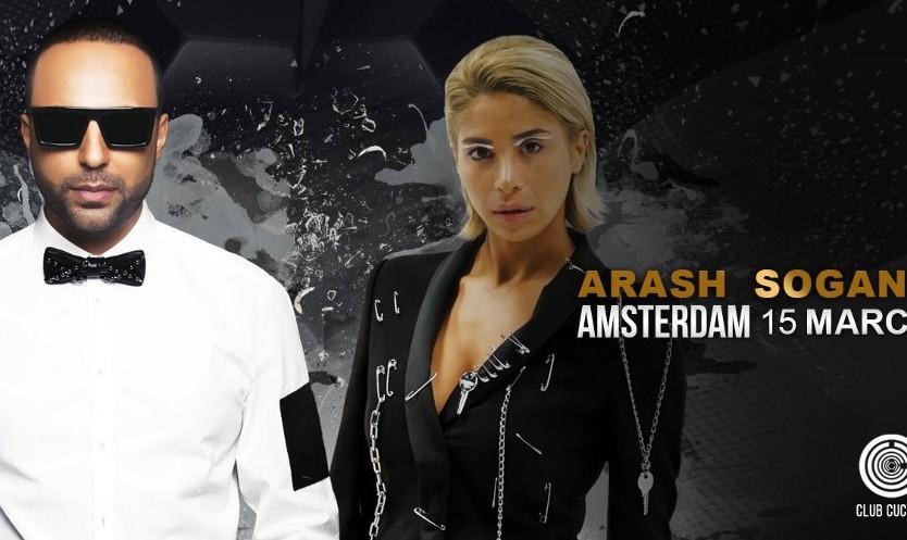 Arash & Sogand Live Nowruz Concert in Amsterdam