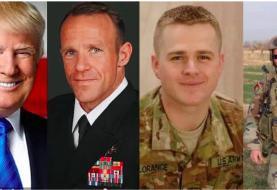 ترامپ سه نظامی آمریکایی متهم به جنایت جنگی در افغانستان و سوریه را عفو کرد