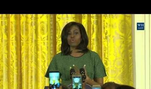 Michelle Obama Celebrates Nowruz at The White House (video)