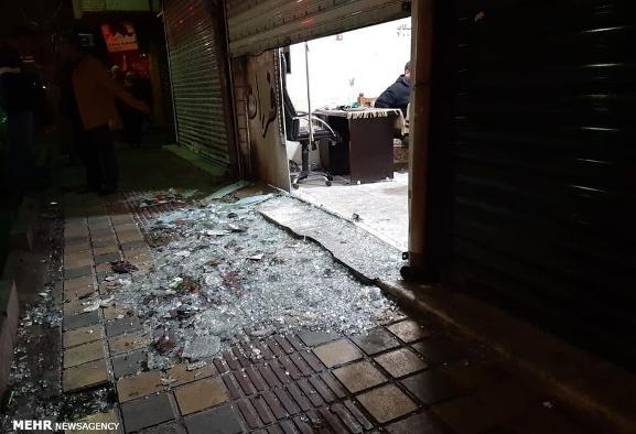 حمله مسلحانه مردان نقابدار به خیابان خاتم الانبیای افسریه: یک کشته ...