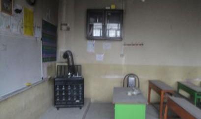 مسمومیت ۲۳ دانشآموز زنجانی با مونوکسید کربن به دلیل استفاده از بخاری فن دار در مدرسه