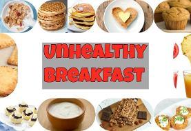 این مدل صبحانه خوردن چاق تان می کند، مراقب باشید!