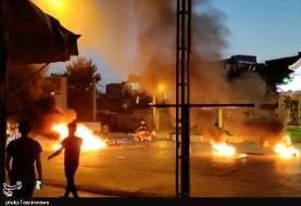 یک کشته و ۷ مجروح در ناآرامیهای الیگودرز: مجروح شدن چند مامور پلیس با سلاح ساچمهزن