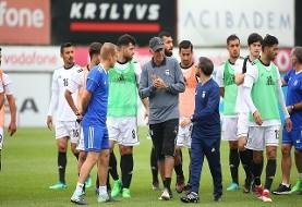 ۲۱ روز تا جام جهانی: تمرین صبحگاهی مردان کیروش