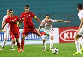 دفاع بهم ریخته و شكست در شبیه سازی مراکش با گل به خودی: تونس ۱ - ایران ۰