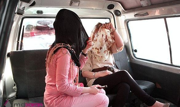 Iranian women removing Hijab inside their car will receive warning ...