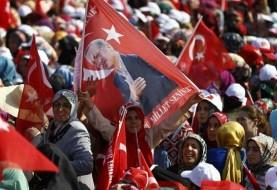 اردوغان پیش از اعلام رسمی نتایج خود را با ۵۲ درصد آرا برنده انتخابات ترکیه اعلام کرد