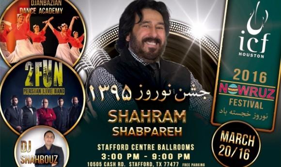 Shahram Shabpareh at Nowruz Persian New year Fetsival