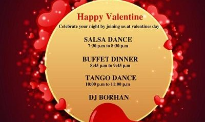 Persian Valentine's Day Party, Dance and Buffet