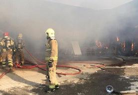 Serial fires and arsons continue in Iran: Depot in Jajrood industrial city