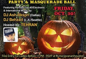 ۳rd Annual Persian Halloween Party & Masquerade Ball
