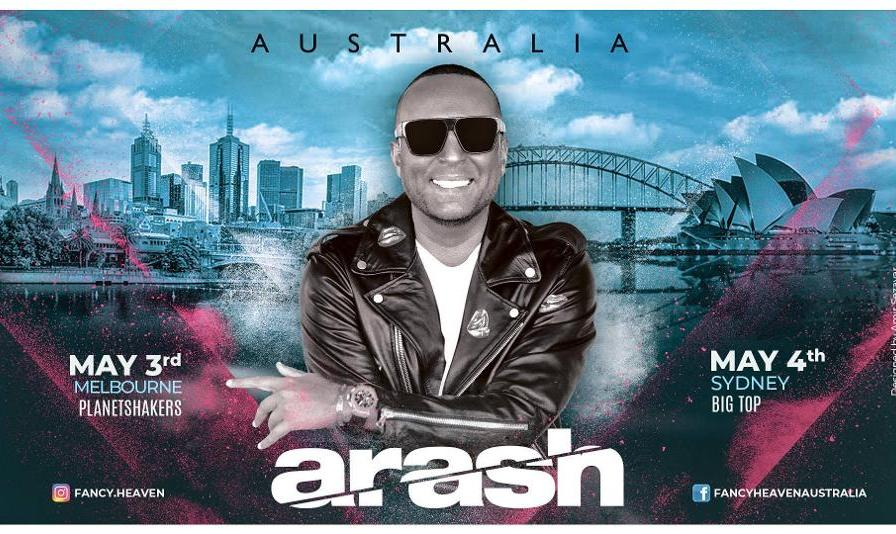 کنسرت  آرش در سیدنی
