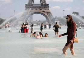 گرمای شدید در اروپا؛ فرانسه برای گرمای چهل درجه آماده میشود
