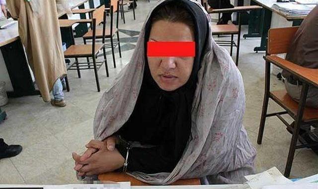 با لباس زنانه ۱۵۰ میلیون دزدیدند!